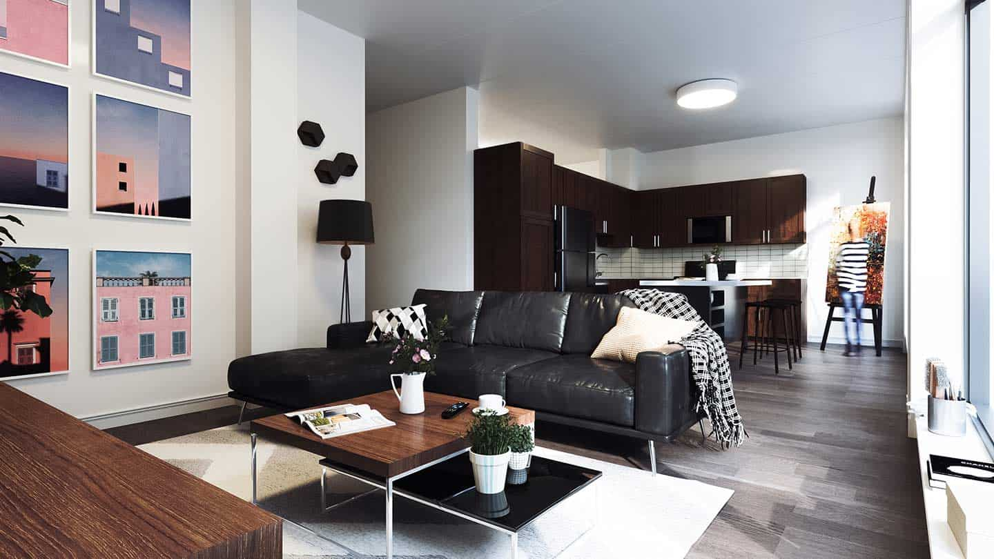 Artesan Lofts Apartment Interior - Unit 12
