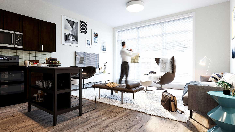 Artesan Lofts Apartment Interior - Unit 13