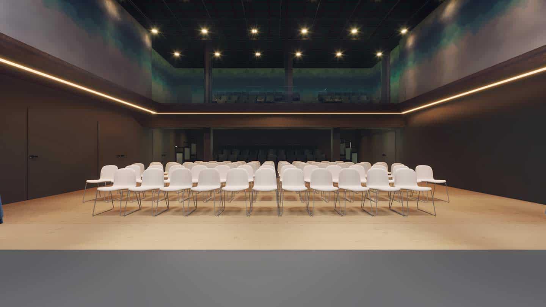 Paramount Center of the Arts Flex Studio - Seating