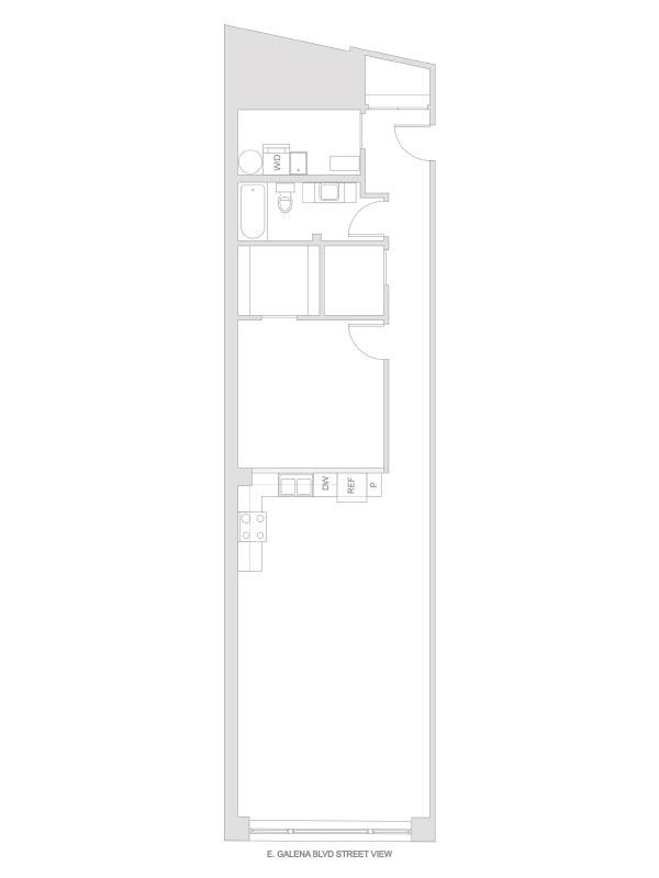 Artesan Lofts - 1 Bedroom 1 Bath - Unit 1 R205, R305