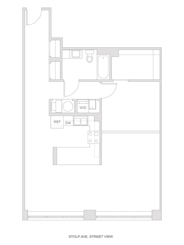 Artesan Lofts - 1 Bedroom 1 Bath - Unit 13 R212, R312