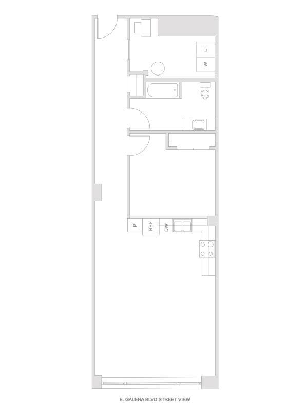 Artesan Lofts - 1 Bedroom 1 Bath - Unit 2 R204, R304