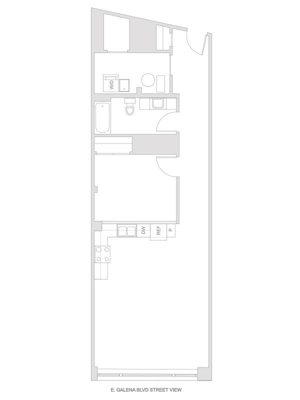 Artesan Lofts - 1 Bedroom 1 Bath - Unit 3 R203, R303
