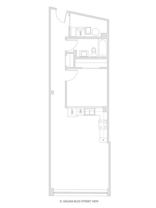 Artesan Lofts - 1 Bedroom 1 Bath - Unit 4 R202, R302