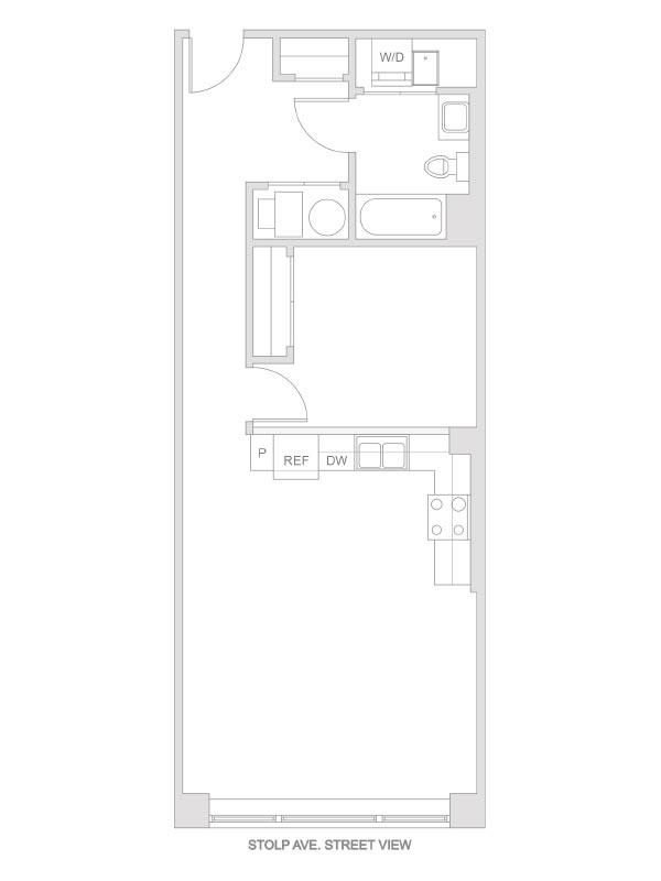 Artesan Lofts - 1 Bedroom 1 Bath - Unit 6 R218, R318