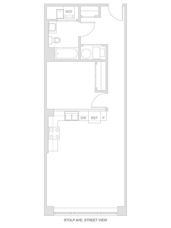 Artesan Lofts - 1 Bedroom 1 Bath - Unit 7 R219, R319