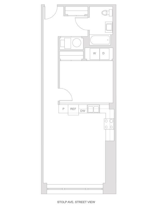 Artesan Lofts - 1 Bedroom 1 Bath - Unit 9 R216, R316