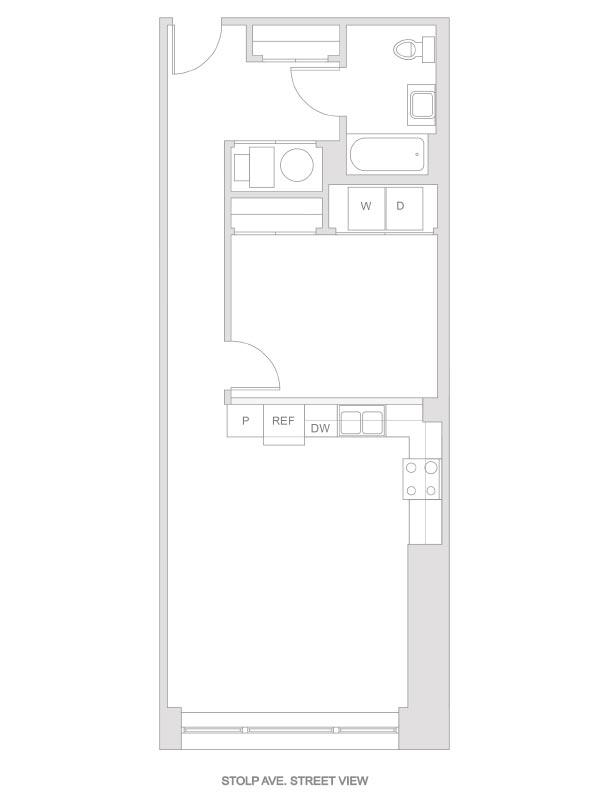 Artesan Lofts - 1 Bedroom 1 Bath - Unit 9 R216, R316
