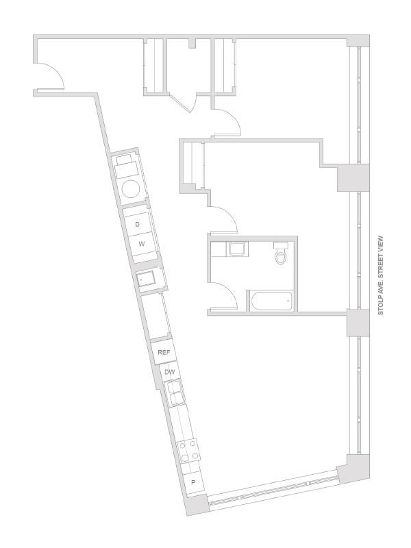 Artesan Lofts - 2 Bedroom 1 Bath - Unit 5 R201, R301